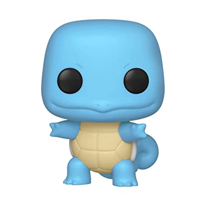 Funko Pop Pokemon: Squirtle - Stylized Vinyl Figure