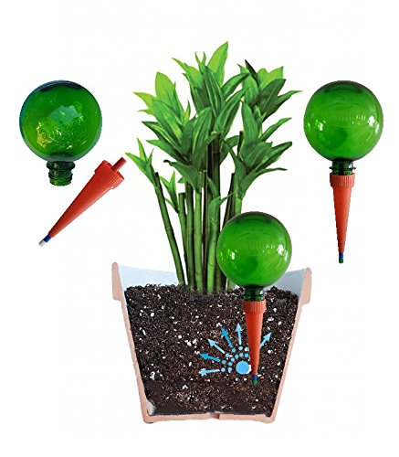 Captivating (Confezione Da 2 Verde), Plantpal Sistema Di Irrigazione Per Piante Aqua  Globes