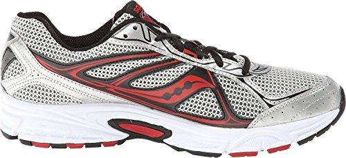 Saucony Hombre cohesión TR7Trail Running Zapatos Silver/Navy/Royal