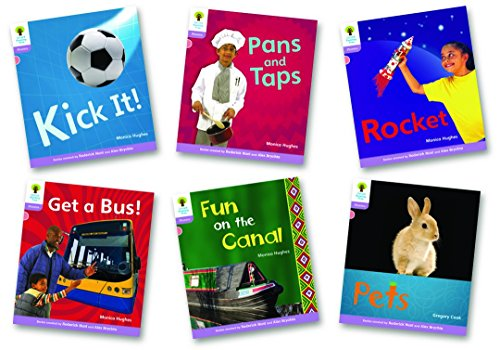 Stage 1+: Floppy's Phonics Non-Fiction: Pack of 6 (Oxford Reading Tree: Stage 1+ Floppy's Phonics Non-Fiction)