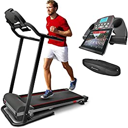Sportstech F10 treadmill with Smartphone App control, pulse ...