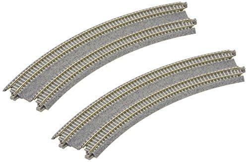 Kato Uni Track 20Pack Unitrack Double Track (Concrete Sleepers, R315/45° Bent Überhöht