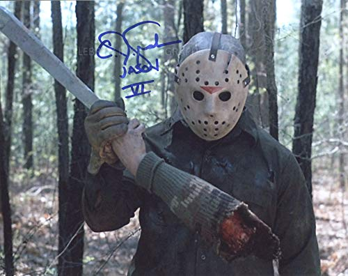 C. J. GRAHAM as Jason Vorhees – Halloween 6: Jason Lives 8″x10″ GENUINE AUTOGRAPH