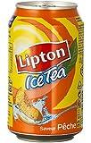 Lipton Ice Tea pêche 33cl (pack de 24)