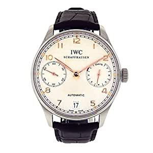 IWC Portuguese automatic-self-wind mens Watch IW500114 (Certified Pre-owned)
