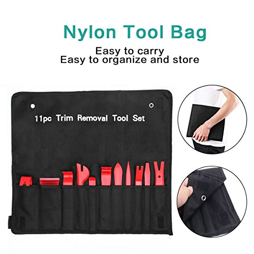 Ansite Auto Trim Removal Tool Set-13 Pcs Auto Trim Upholstery Removal Kit Installer Pry Tool with Fastener Removers by Ansite (Image #5)