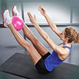 Mini Yoga Pilates Ball 9-10 Inch for Stability