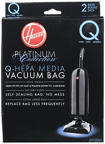 Hoover Paper Bag, Type Q Upright Hepa (Pack of ()