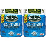 Herb-Ox Vegetable Bouillon Cubes-25 ct, 2 pk