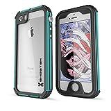iPhone SE Waterproof Case, Ghostek® Atomic 3 Series for Apple iPhone 5, 5S & SE | Underwater | Shockproof | Dirt-proof | Snow-proof | Aluminum Frame | Adventure Ready | Ultra Fit | Swimming (Teal)