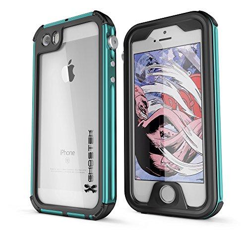 DualPro Shockproof Case for Apple iPhone SE/5S/5 (Black) - 6