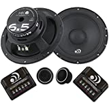 Massive Audio MK6-6 Inch, 6.5 300 Watts Max / 150w RMS, 4 Ohm, MK Series, Component Car Audio Speaker System (Pair)