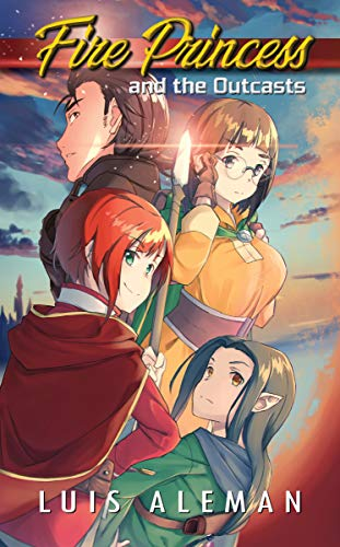 Fire Princess and the Outcasts (light novel)