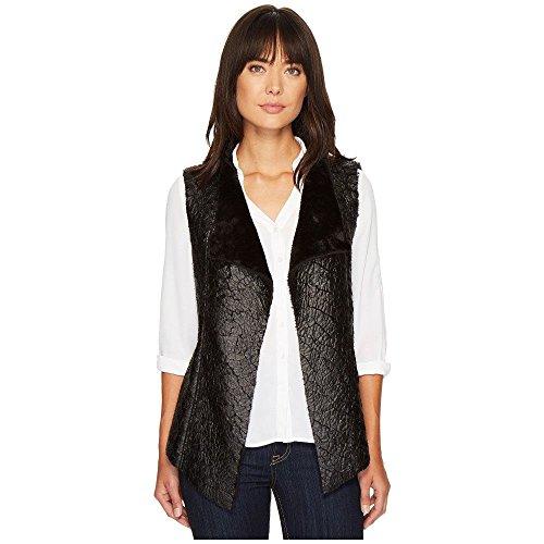 シェーバー買い手一回(NYDJ) NYDJ レディース トップス ベスト?ジレ Coated Faux Fur Vest [並行輸入品]