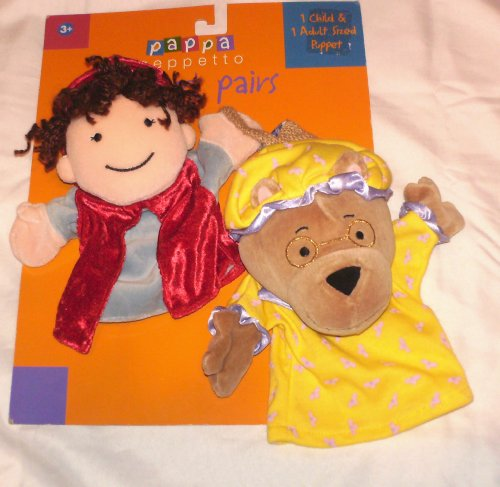 Pappa Geppetto's Puppet Pairs Little Red Riding Hood