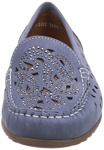 Sininen Newport 06 Naiset farkut Mokkasiinit Ara Blau 0PwOP8