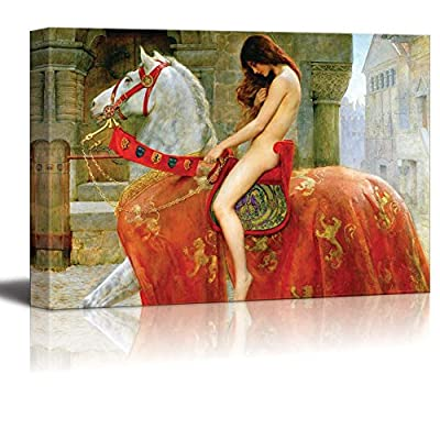 Marvelous Picture, Lady Godiva by John Collier, Created By a Professional Artist
