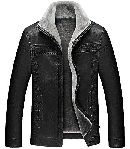 Di c Spessore Casual Peso Calda Models In Black Cappotti Stile Donna Giacca Invernali Da Uomo OwSz4q