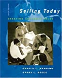 img - for Selling Today: Creating Customer Value, 10th Edition by Gerald L Manning (2006-12-01) book / textbook / text book