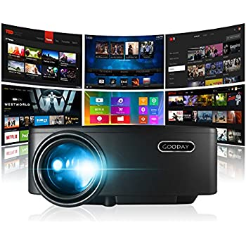 Amazon com: Projector, Smart Android WiFi Bluetooth Video Beam, by