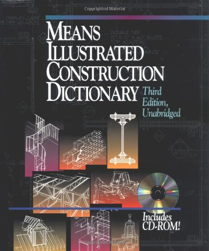 Pdf Home Means Illustrated Construction Dictionary, Includes CD-ROM! (RSMeans)