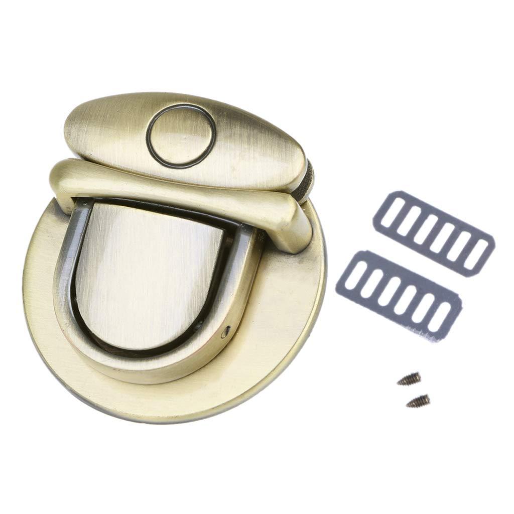 SimpleLife Purse Twist Turn Lock Chiusura Borsa Fai-da-Te Fibbia Hardware Borsa a Tracolla Accessori di Ricambio
