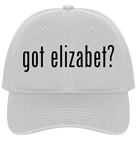 The Town Butler got Elizabet? - A Nice Comfortable Adjustable Dad Hat Cap, White