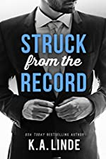 Struck from the Record: A Black Sheep Second Chance Romance