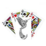 Bird Paint Running Long Feather Poker Playing Cards Tabletop Game Gift