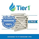 Tier1 Replacement for Bionaire 911D Models W7, W9, C22 Air Purifier Filter 2 Pack