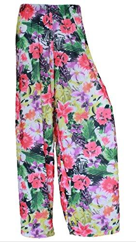 LUL - Pantalón - para mujer Spring Flower