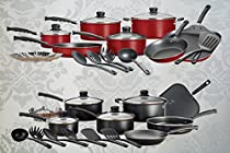Cookware Set Kitchen Sets 18 Pieces Anodized Nonstick Aluminum Stainless Steel-Cooking COOKWARE with the guarantee of our company