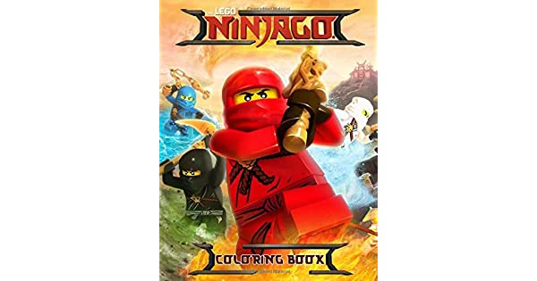 Amazon.com: The Lego Ninjago Coloring Book: Great Coloring ...