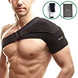 Shoulder Support Brace with Pressure Pad for Rotator...