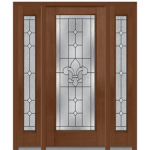 Jeld-Wen National Door Company Z008201L Fiberglass Mahoga...