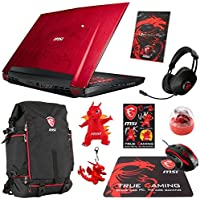 MSI GT72VR DOMINATOR PRO DRAGON-638 (i7-7700HQ, 16GB RAM, 128GB SATA SSD + 1TB HDD, NVIDIA GTX 1070 8GB, 17.3 Full HD, 120Hz, Windows 10) VR Ready Gaming Notebook