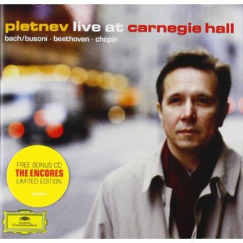 Pletnev Live at Carnegie Hall by DEUTSCHE GRAMMOPHON