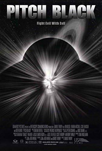 Amazon.com: Pitch Black POSTER Movie (27 x 40 Inches - 69cm x 102cm)  (2000): Posters & Prints