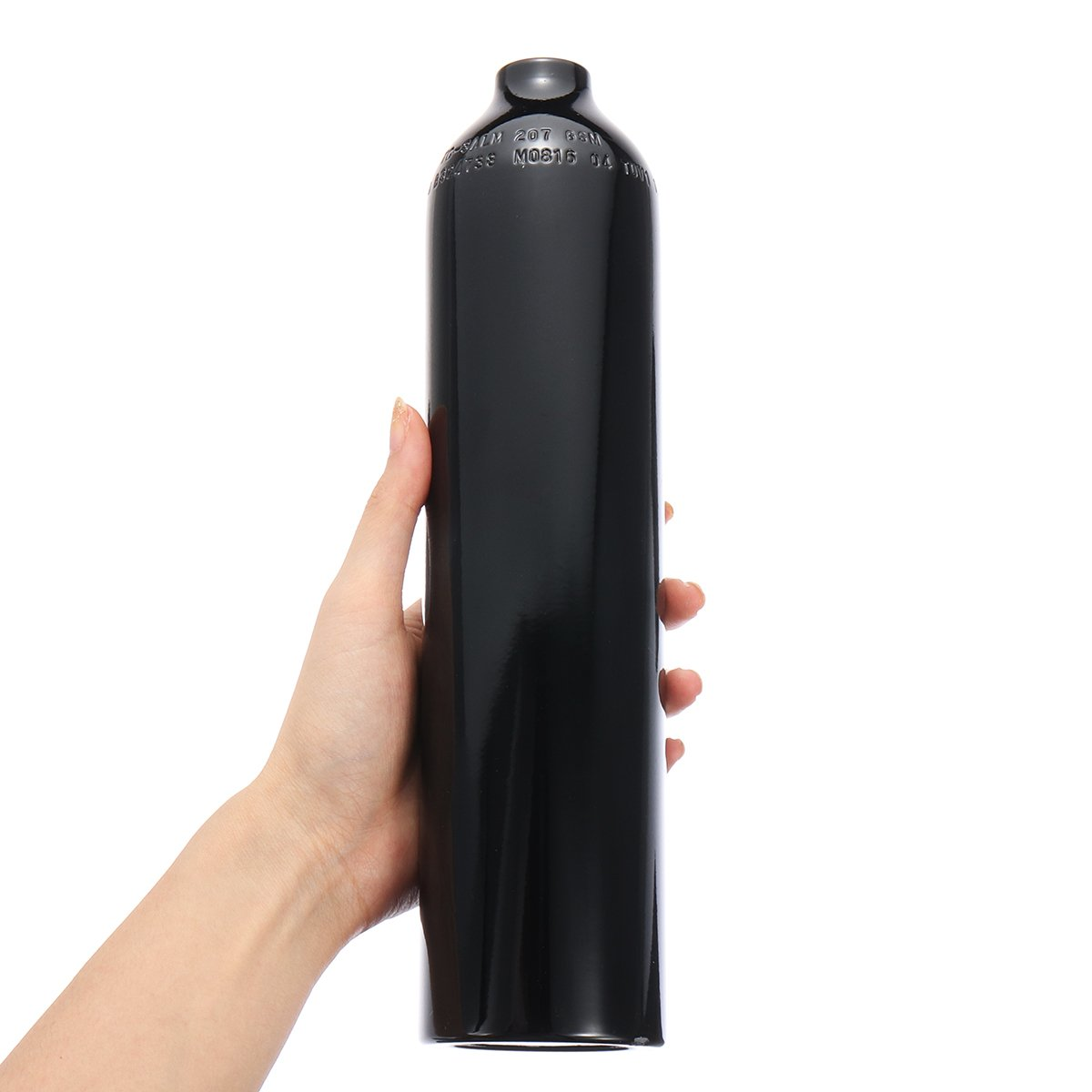 0.5L 5/8-18UNF Aluminum Tank Air Cyclinder Bottle 3000 PSI For Paintball PCP''