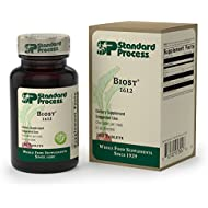 Standard Process - Biost - Gluten Free Health Supplement for Bones and Teeth, 6 mg Manganese, Supports Skeletal and Cellular Health - 180 Tablets
