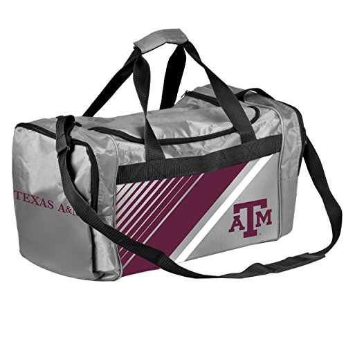 - Texas A&M Border Stripe Duffle Bag