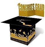 Toys : jollylife Grad Cap Card Box Centerpiece Holder- Graduation Party Supplies 2018 - Congrats Decorations