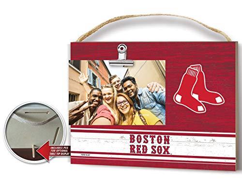 KH Sports Fan Clip It Colored Logo Photo Frame Boston Red Sox