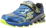 Cheap Skechers Kids 95556L Mega Blade Sneaker,Blue/Yellow,11.5 M US Little Kid