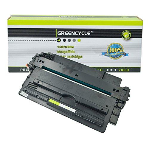 GREENCYCLE Compatible 14A CF214A Black Toner Cartridge Replacement for Laserjet Enterprise 700 M712dn 700 M712xh 700 MFP M725f Printer