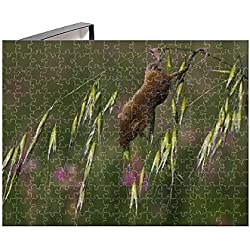 Media Storehouse 252 Piece Puzzle of Harvest Mouse (Micromys minutus) (15371995)