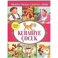 Kurabiye Çocuk Hikayeli Sticker (Çıkartma) Kitabı