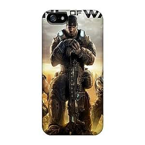 JasonPelletier Iphone 5/5s Shock Absorbent Hard Phone Cover Unique Design Beautiful Gears Of War 3 Skin [obz1742GCqT]