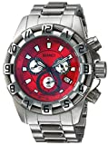 Roberto Bianci Men's RB70640 Casual Placenza Analog Red Dial Watch