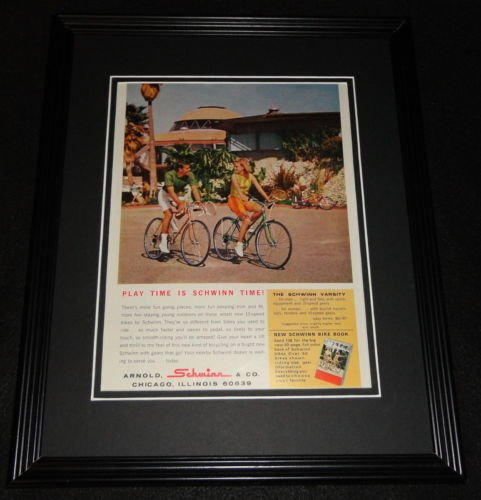 1966 Schwinn Bicycles 11x14 Framed ORIGINAL Vintage Advertisement